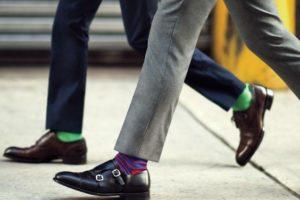 靴下見せメンズコーデに役立つカラーコーディネート術
