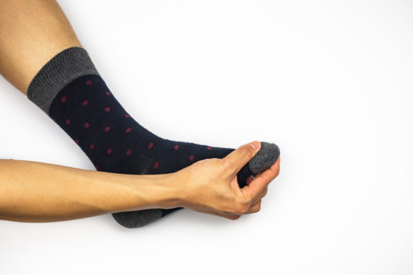 五本指ソックスが痛い原因・解決方法。痛くない靴下のご紹介