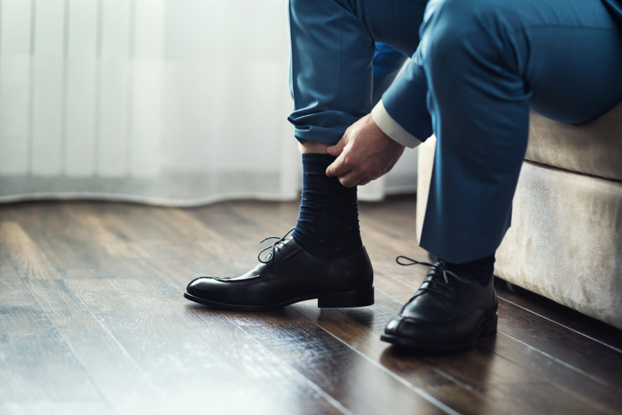 おしゃれに気を使う50代男性へのプレゼントには靴下がおすすめ