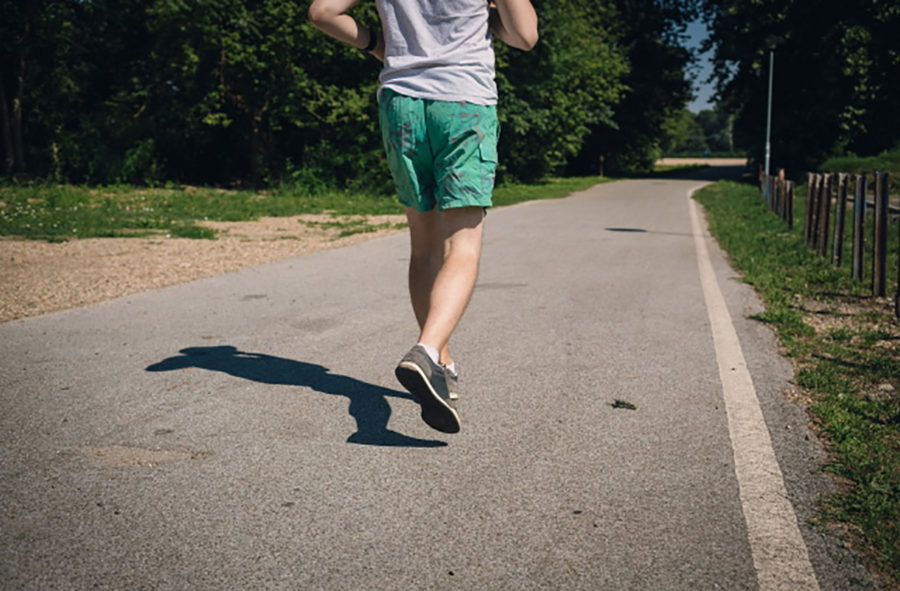 筋力が向上し足が疲れにくい